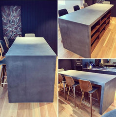 Concrete Design House Concrete Benchtop