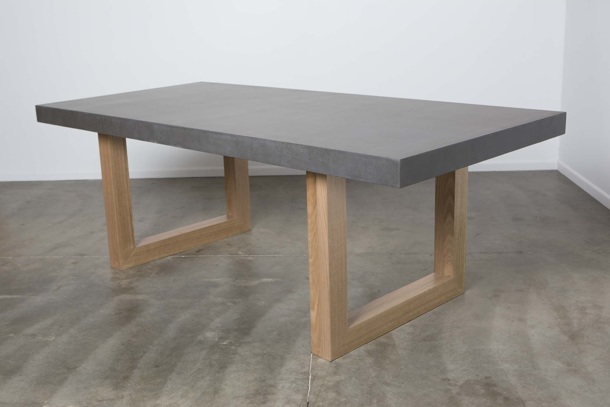 Aurora Oval Concrete Dining Table