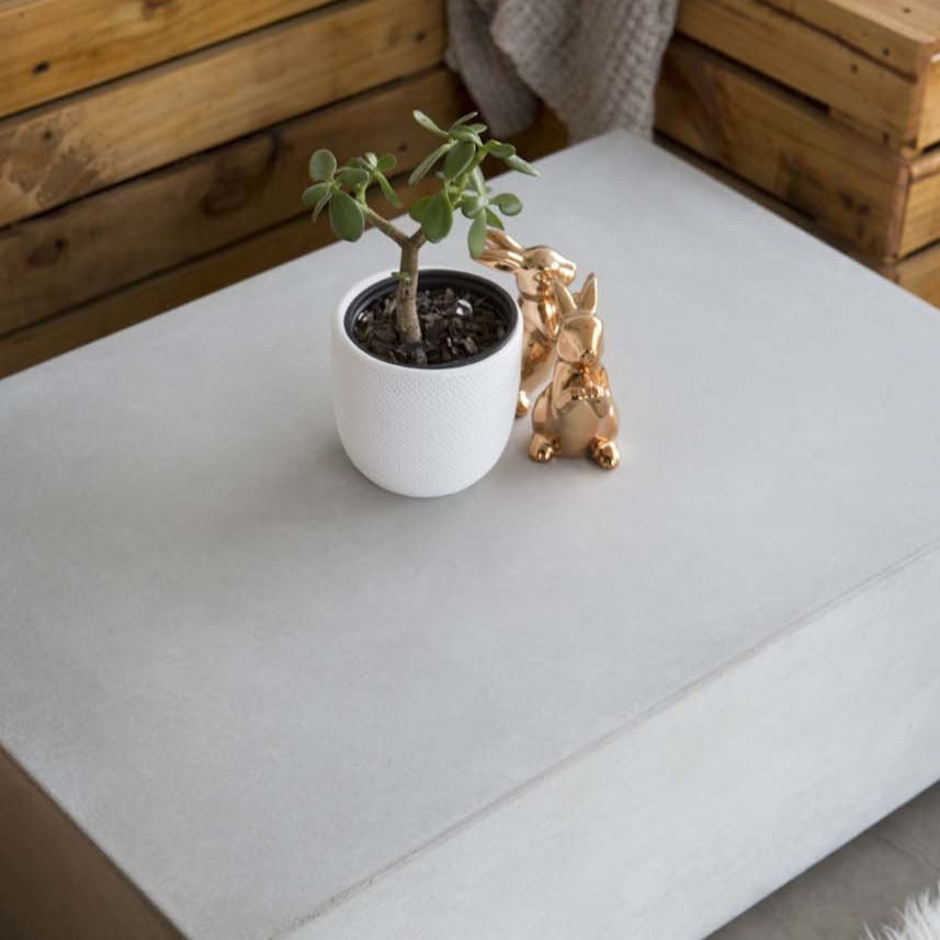 Malmo: Floating Concrete Coffee Table