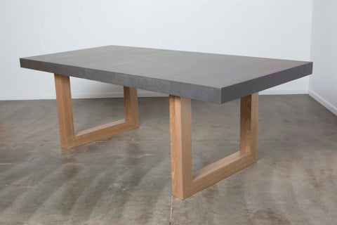 SALE - Bergen: Concrete Dining Table