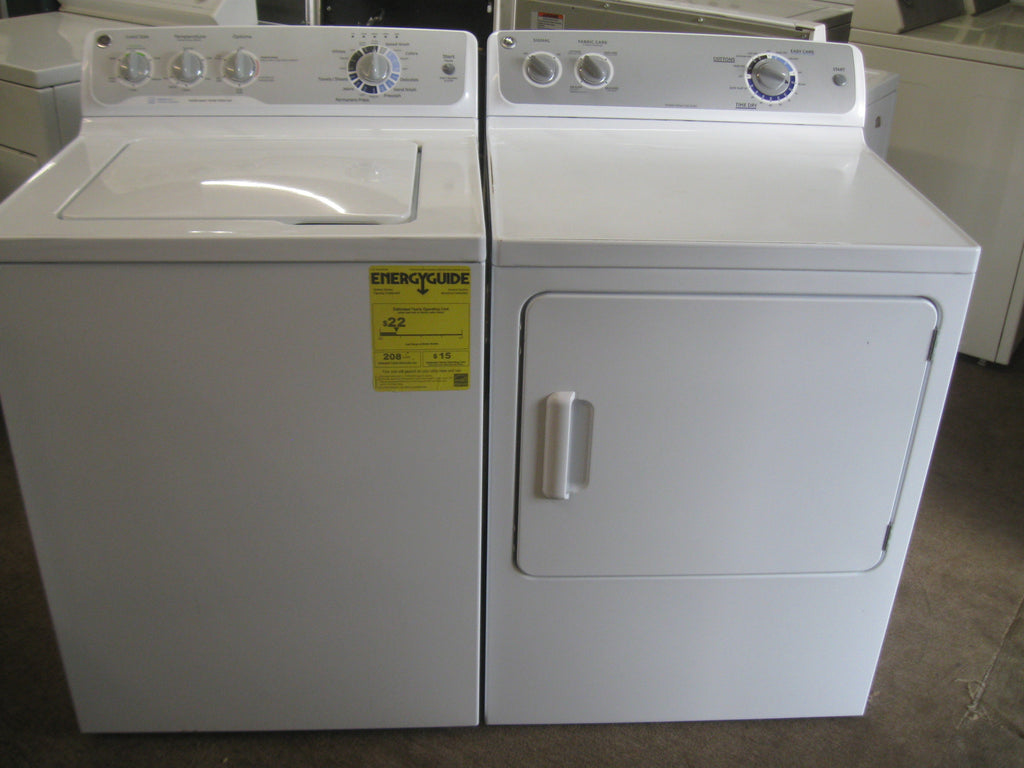 washer u0026 dryer set ge profile electric washer