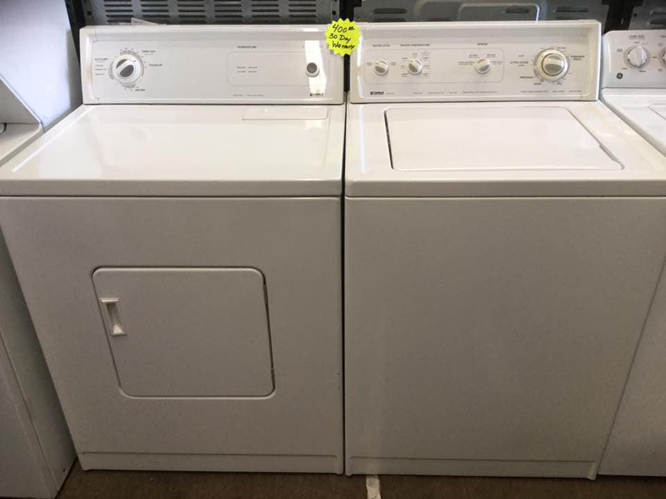 washer u0026 dryer set kenmore series 80 selbyville used appliances store