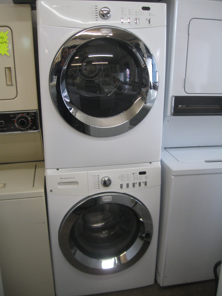 washer u0026 dryer set frigidaire front load friset selbyville used appliances store