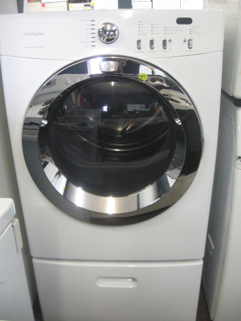 dryer frigidaire affinity frontload electric dryer