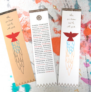 Fly with Spirit Bookmark