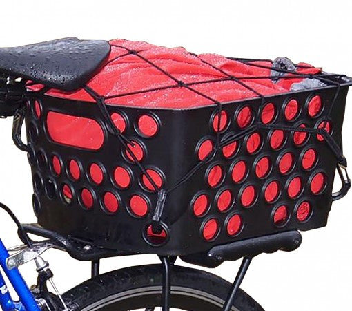 BIKASE Dairyman Rear Basket Quick Release for Electric Bicycles