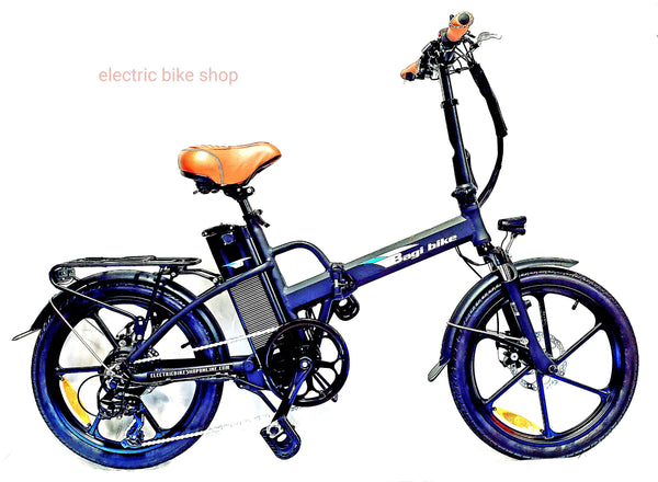BAGIBIKE B20 PREMIUM STREET TRX Folding Electric Bicycle 2020