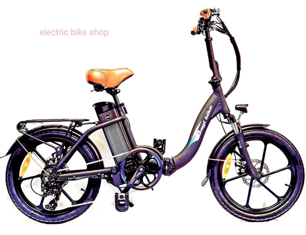 BAGIBIKE B10 PREMIUM Folding Low Step Electric Bicycle 2019
