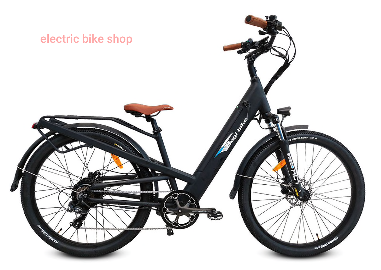 BAGIBIKE B27 TRAIL ST LOW-STEP Electric Bicycle 2020