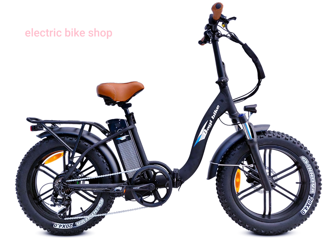 BAGIBIKE B10 FAT/M BOLD PLUS LOW STEP FOLDING Electric Bicycle 2020