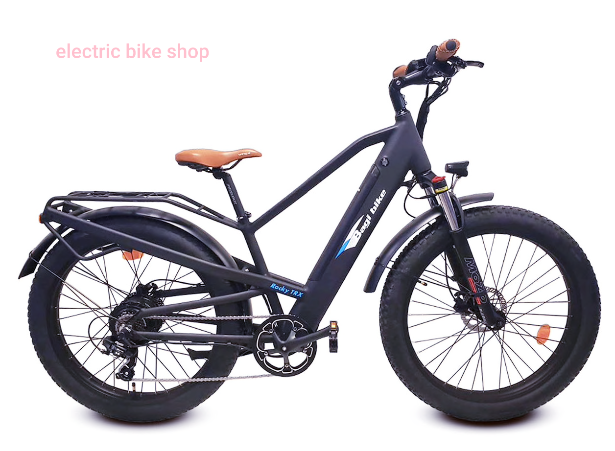 BAGIBIKE B26 ROCKY TRX FAT TIRE Electric Bicycle 2020