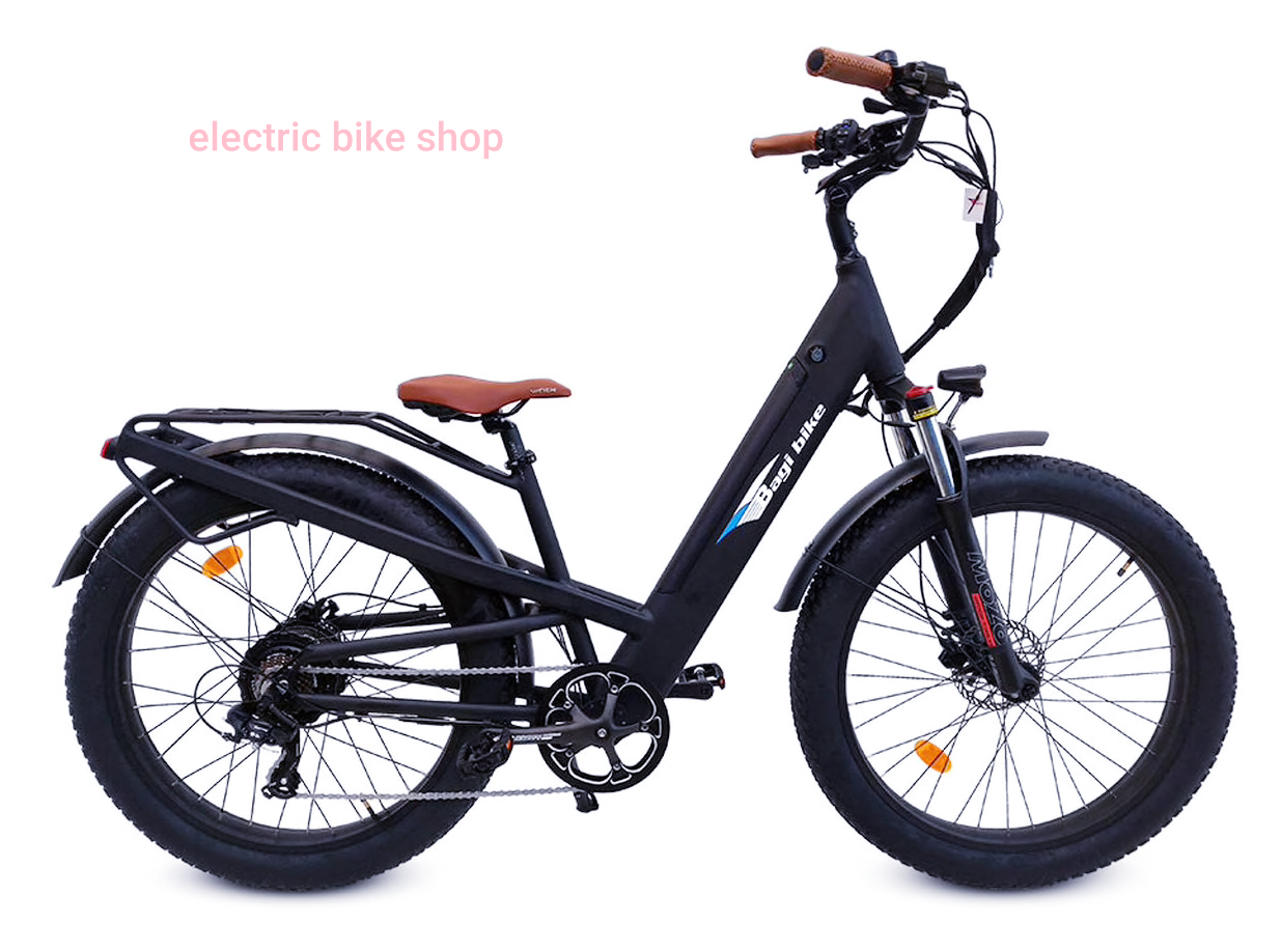 BAGIBIKE B26 ROCKY ST LOW STEP FAT TIRE Electric Bicycle 2020