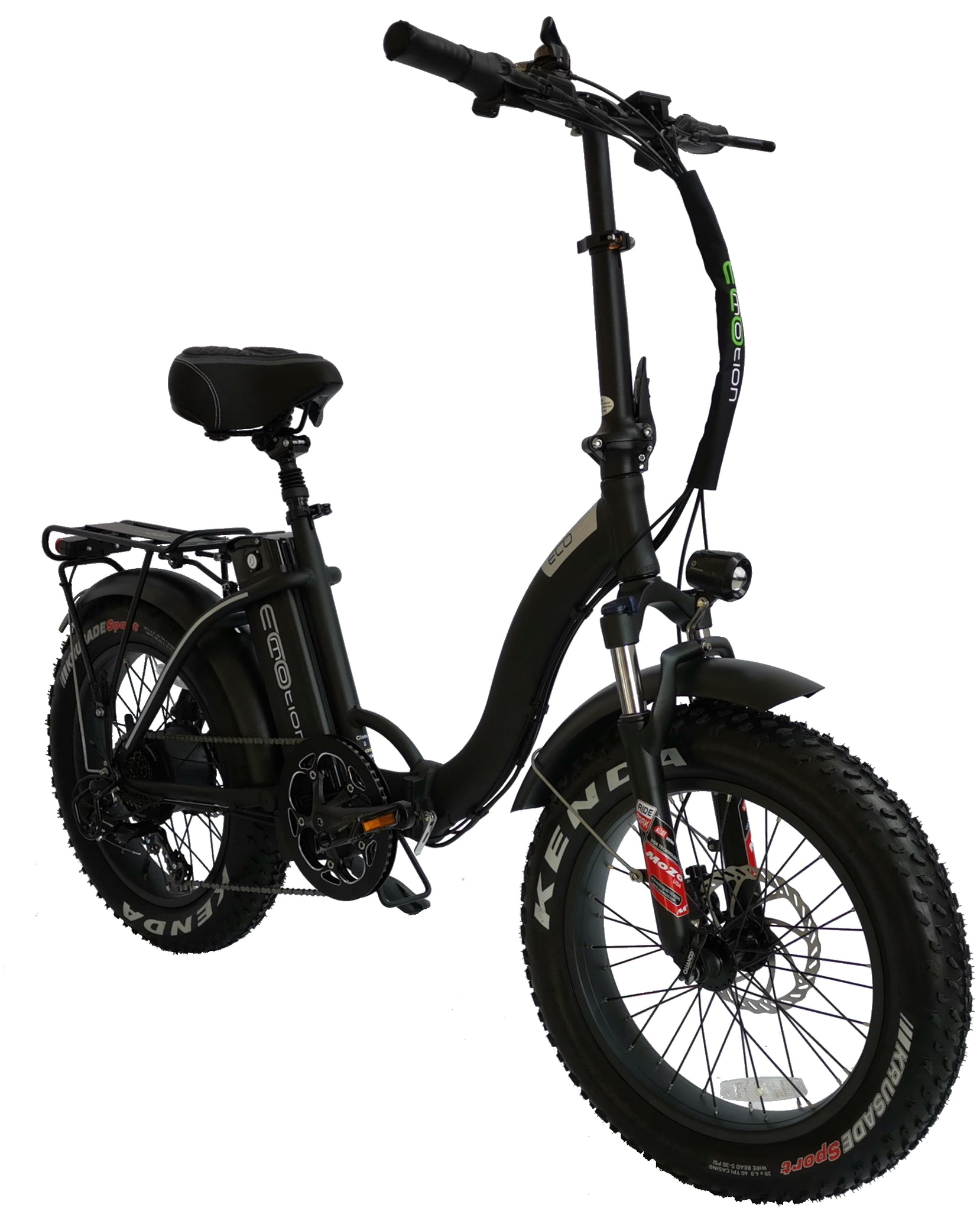 ECOMOTION MINI PRO (L) LOW STEP FOLDING FAT TIRE Electric Bicycle 2020