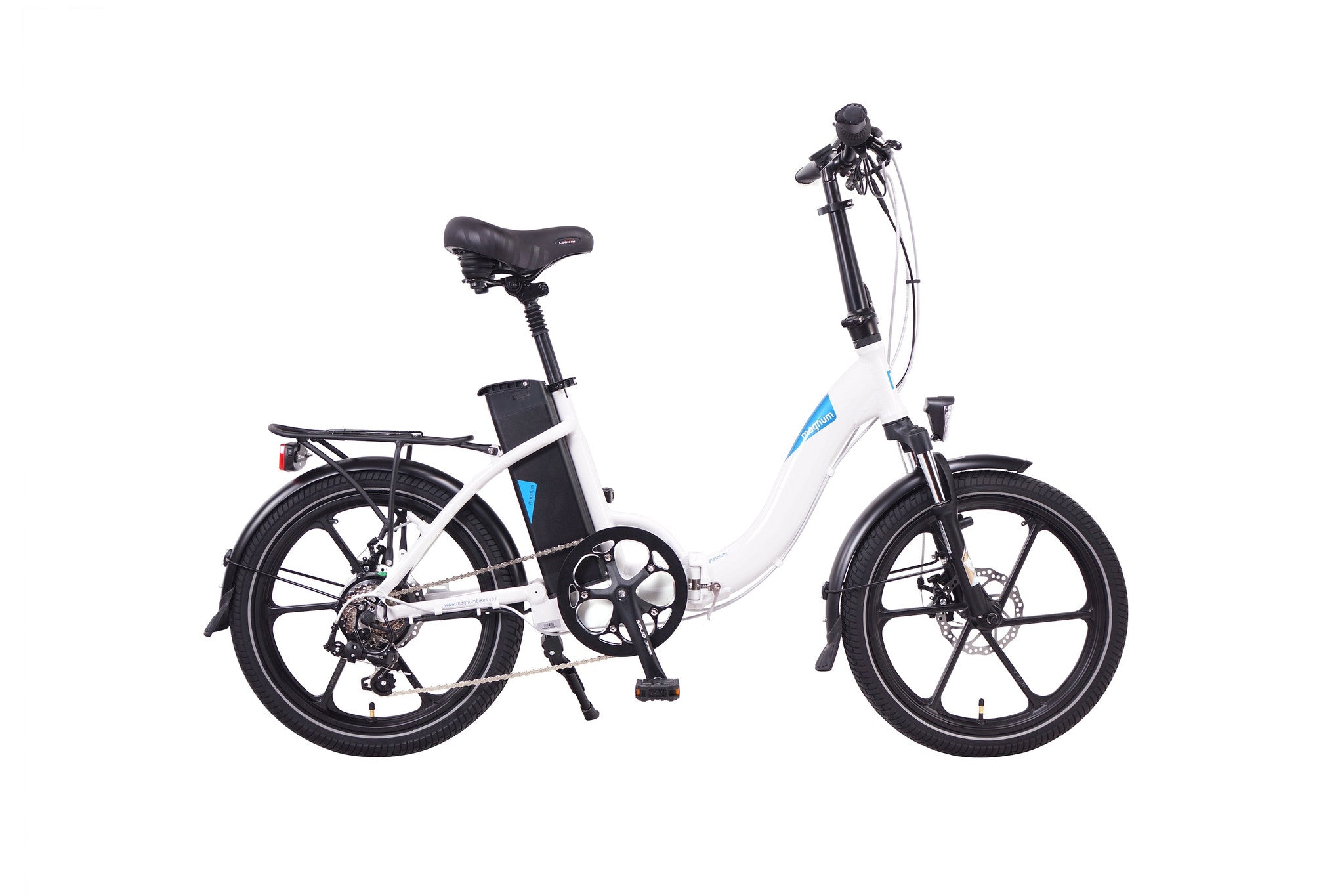 MAGNUM Premium 48 Low Step Folding Electric Bicycle 2020