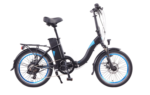 MAGNUM Classic Low Step Folding Electric Bicycle 2018