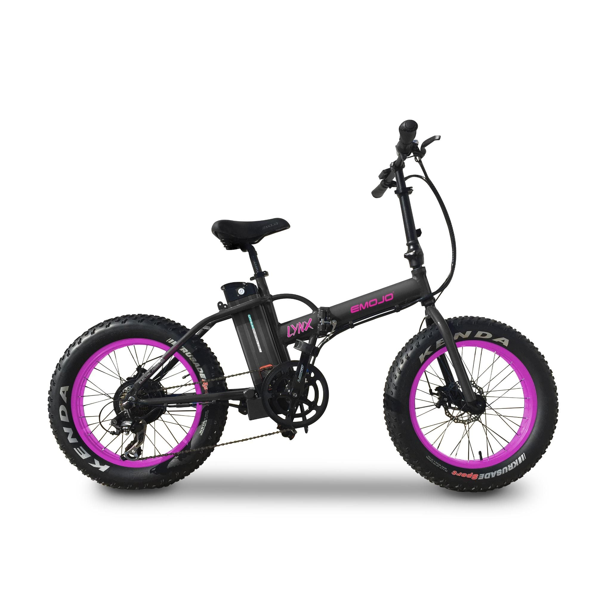EMOJO LYNX Fat Tire Electric Bicycle 2018