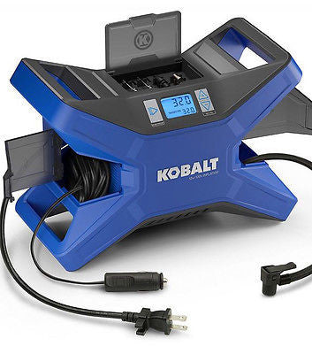 KOBALT AIR COMPRESSOR 12v 120v Electric Bicycle Pump