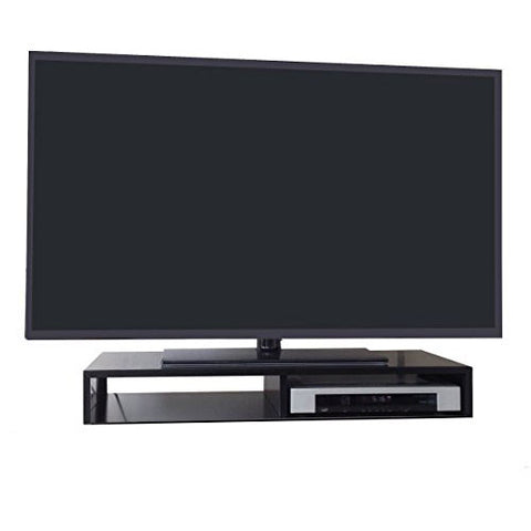 Tabletop TV Stand for Flat Screen (Available in Black, White & Brushed Aluminum)