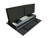 Dual Monitor Stand | RIZERvue