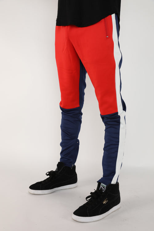 The Block Track Pants in Navy