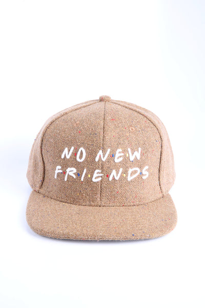 The Friends Snapback in Tan Speckle