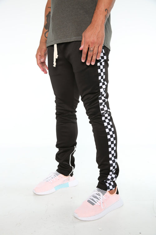 The Klay Track Pants in Black