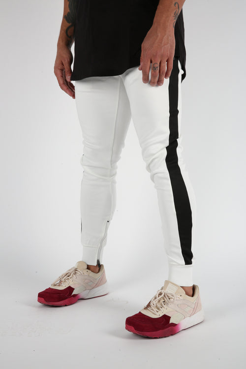 The Gunnar Track Pants in White