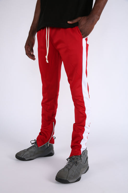 The Loyola Track Pants in Red