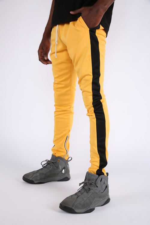 The Loyola Track Pants in Yellow