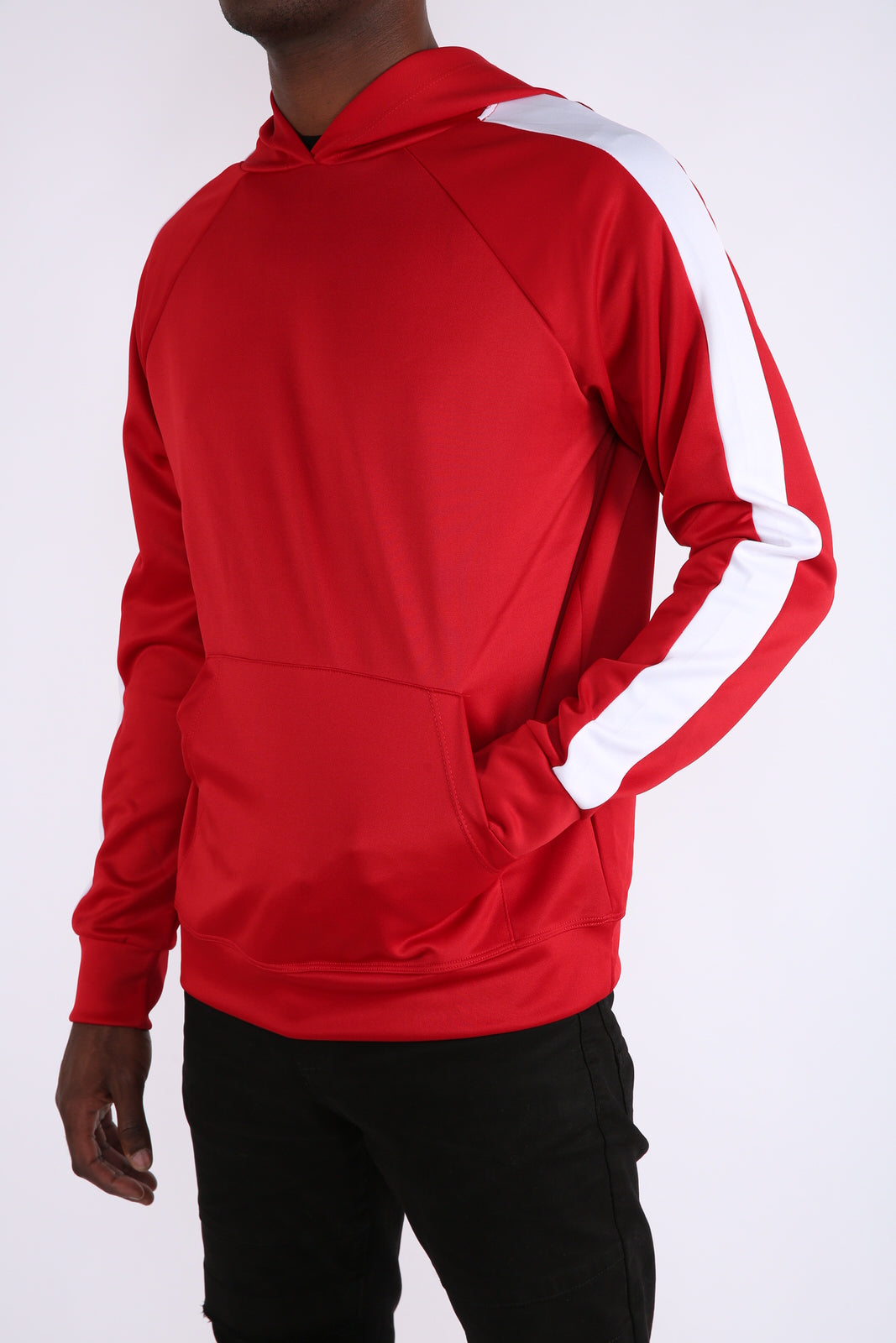 The Elite Track Hoodie in Red
