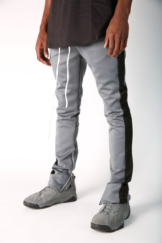 The Jenner Track Pant in Black & White