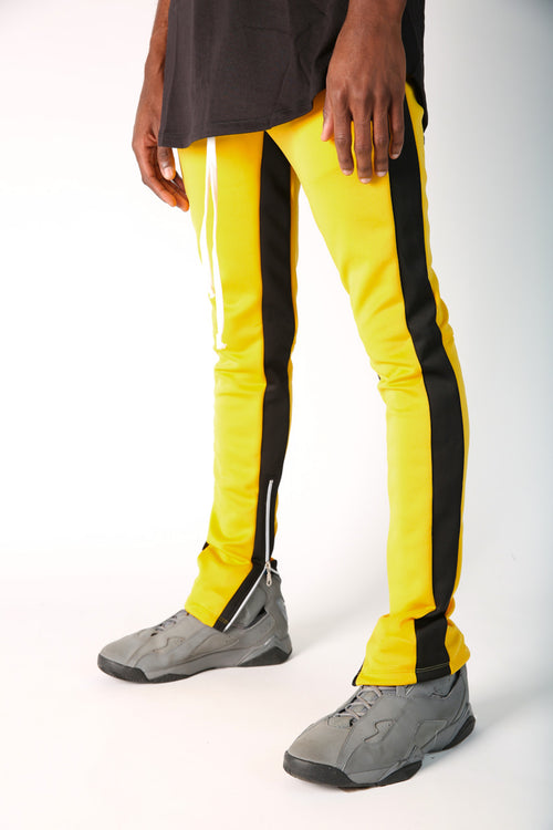 The Jenner Track Pant in Yellow