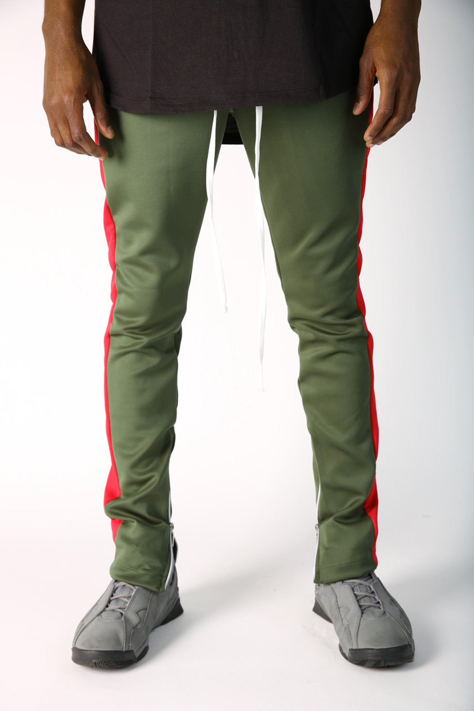 The Jenner Track Pant in Olive