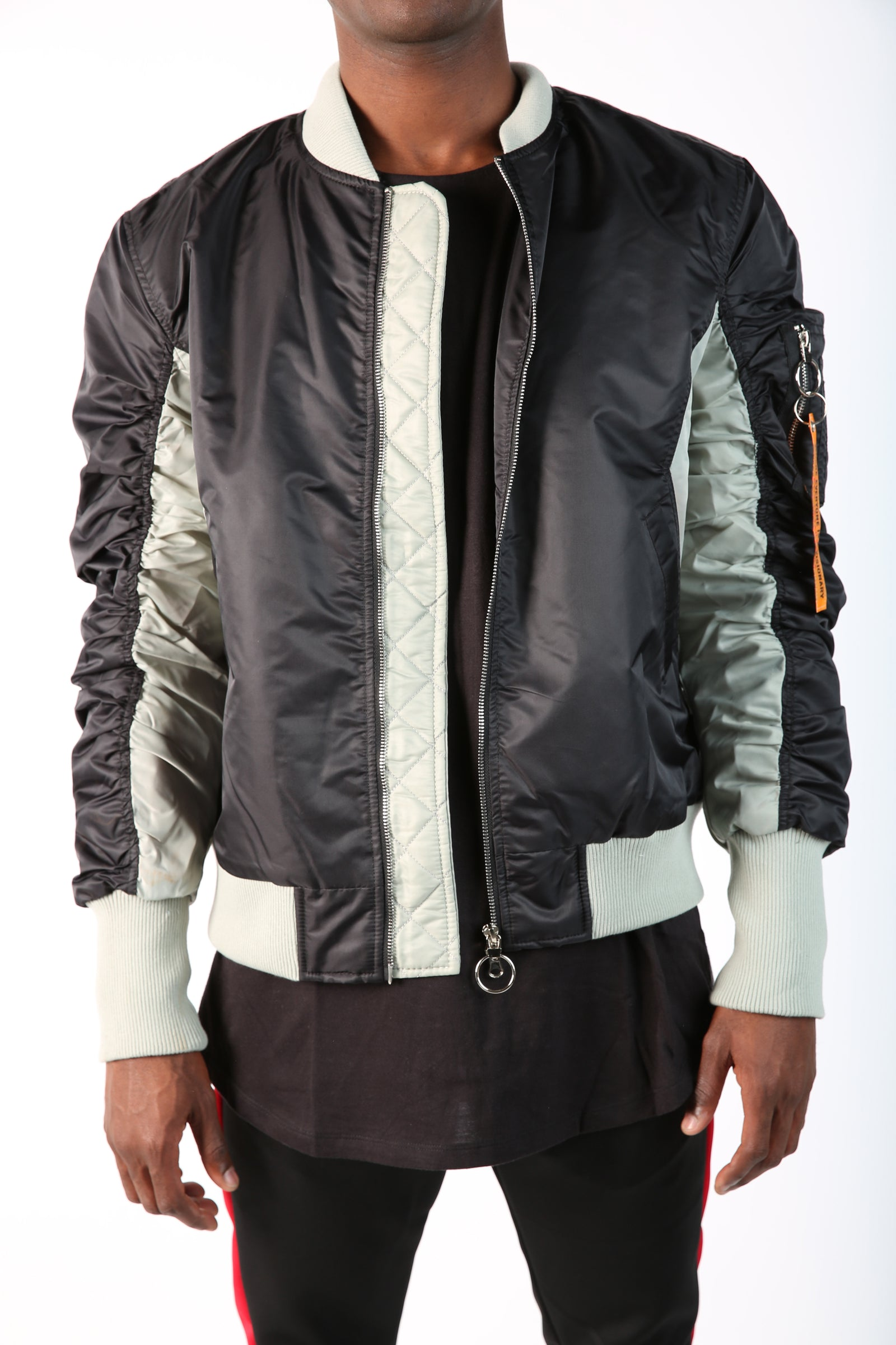 The Maverick 2Tone Bomber in Black