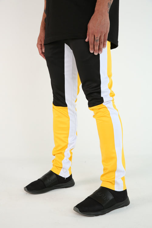 The Sampras Track Pants in Yellow