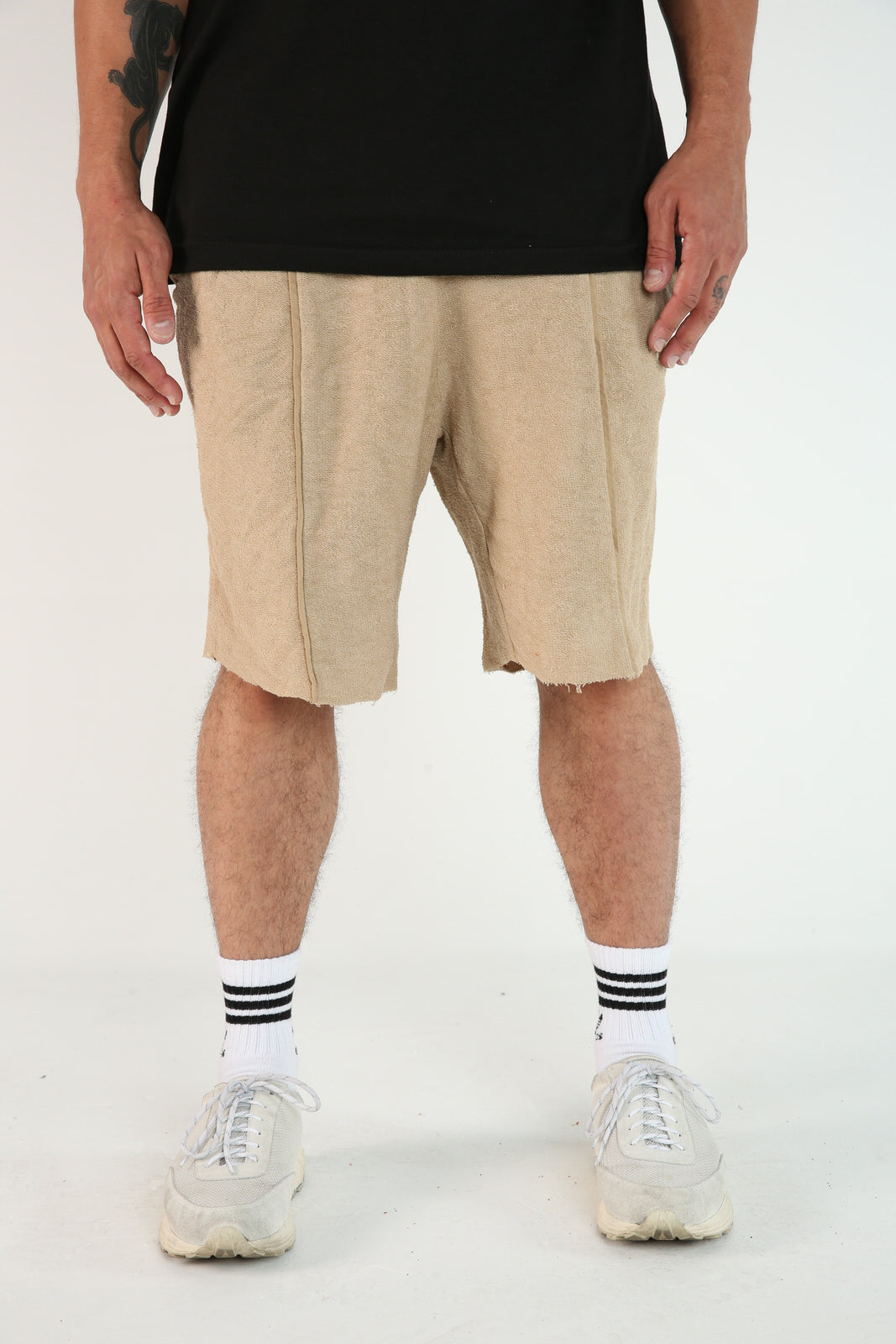 The Highlight Shorts in Tan