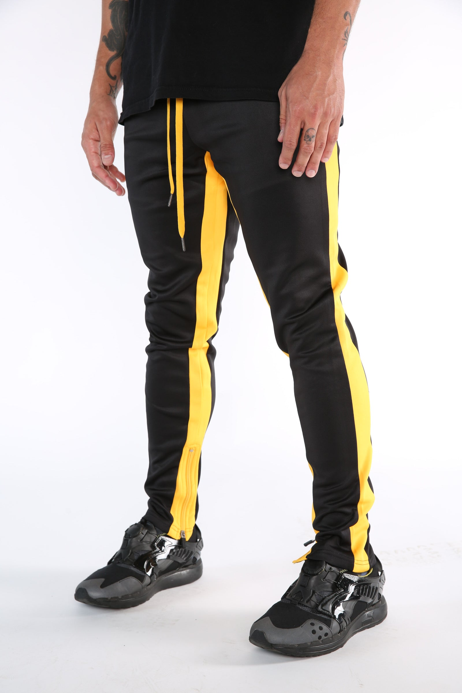 The Mercy Track Pants in Black