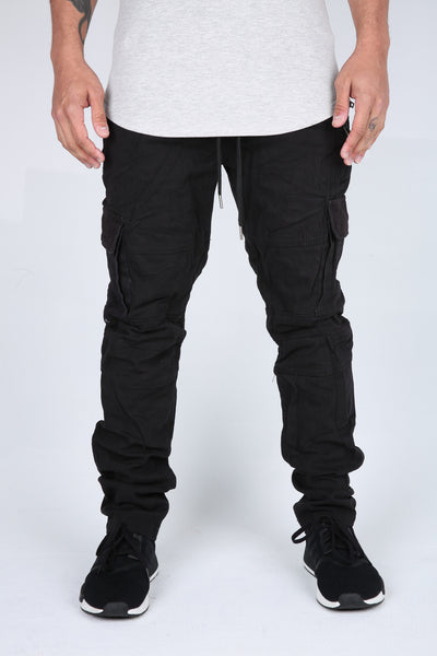 The Flex Military Pants in Black