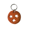 Haiti: Zipper Pull - TriStar/Orange