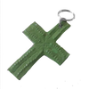 Cross Zipper Pull: Green