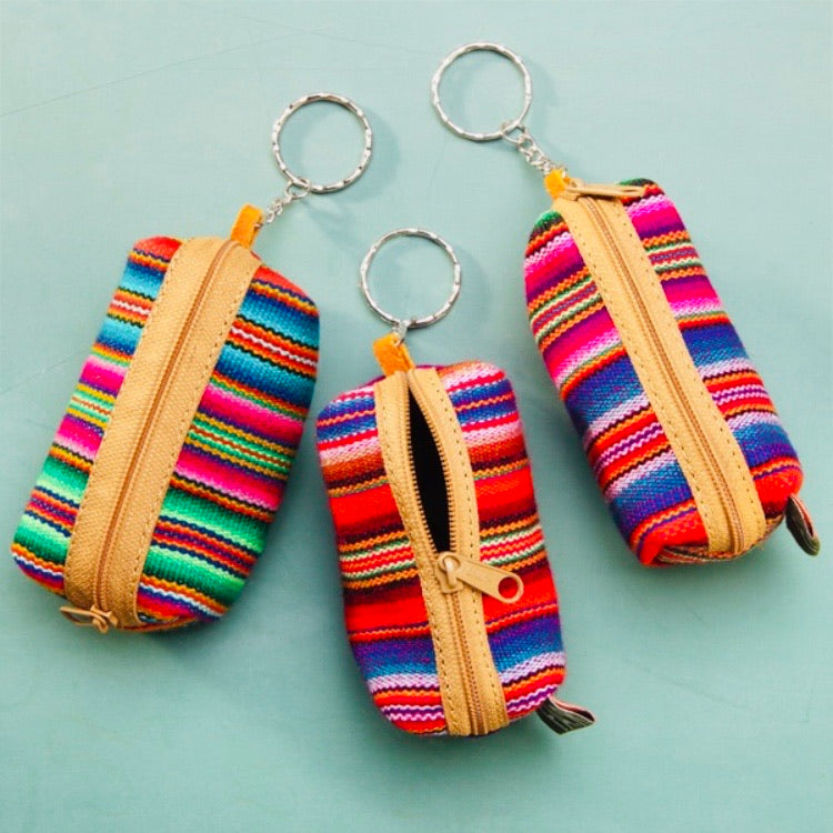 Peru: Keychain - Coin Purse