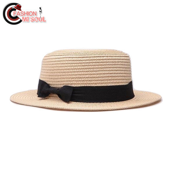 Fashion Boater Panama Classic Hat