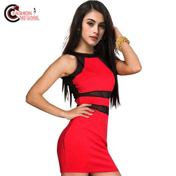 Fashion Evening Party Club Party Drop Mini Dress