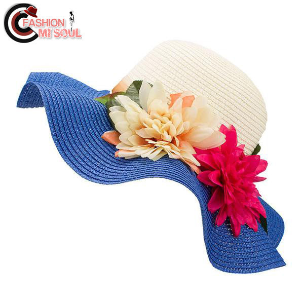 Fashion Wide Large Brim Floppy Straw Hat