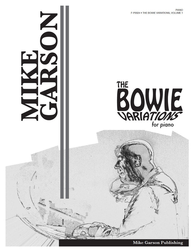 Bowie Variations - Sheet Music for Piano (Digital Download)