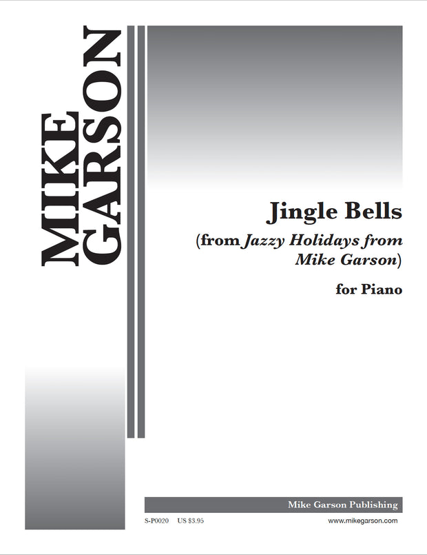 Jazzy Holidays - Jingle Bells - Sheet Music for Piano (Digital Download)