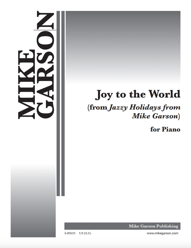 Jazzy Holidays - Joy to the World - Sheet Music for Piano (Digital Download)