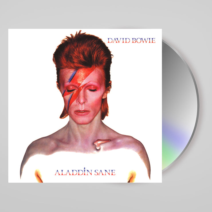 Aladdin Sane - Signed CD