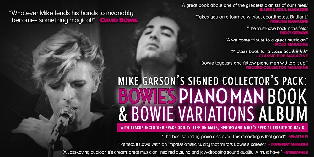 Signed Collector's Set: Bowie's Piano Man and Bowie Variations