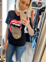 Leopard Tongue T